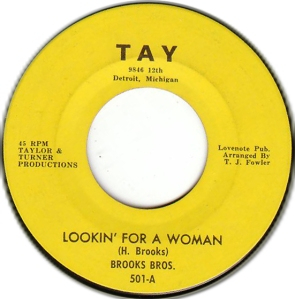 Brooks Brothers - Looking For A Woman - Tay 501