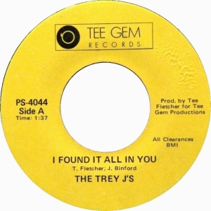 Trey J's - I Found It All In You - Tee Gem