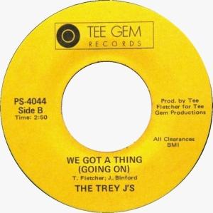 Trey J's - We Got A Thing (Going On) - Tee Gem