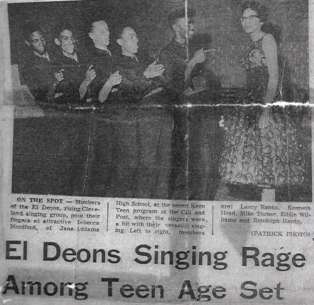 El Deons Newspaper Clipping