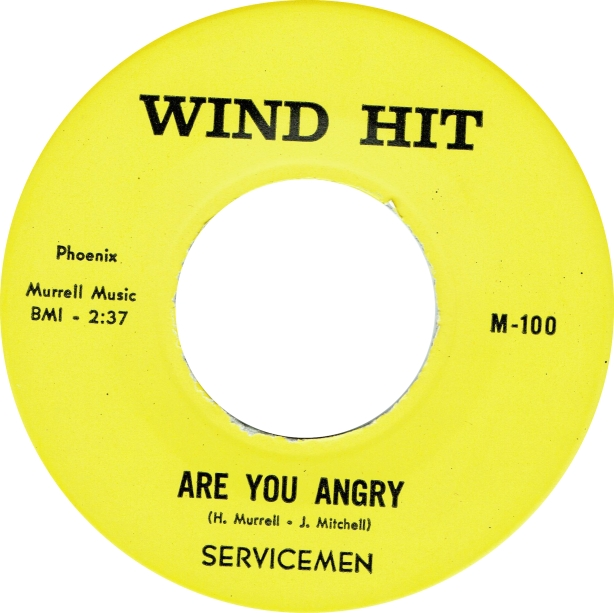 Servicemen - Are you Angry - Wind Hit copy