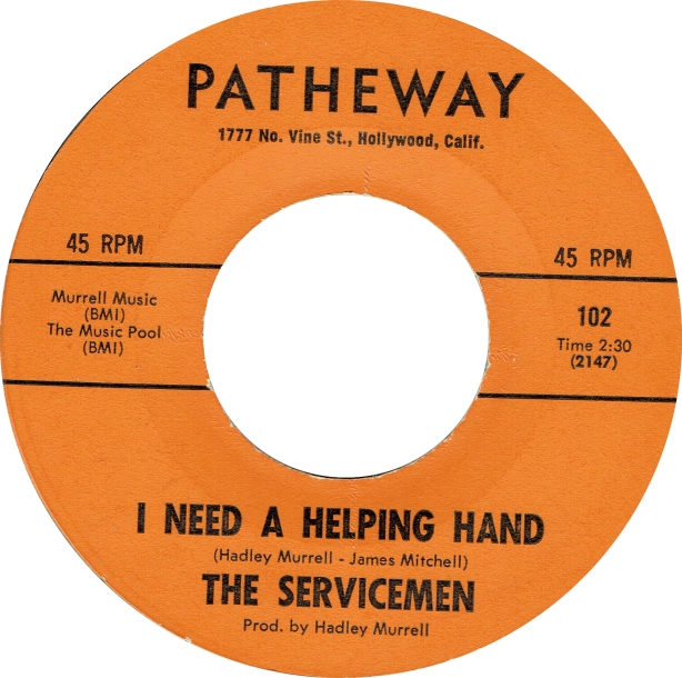 Servicemen - I Need A Helping Hand - Patheway copy