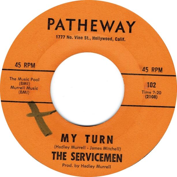 Servicemen - My Turn - Patheway copy