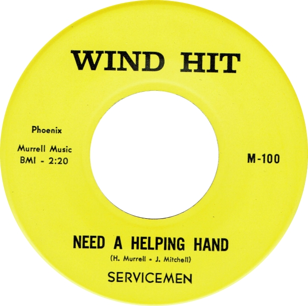 Servicemen - Need A Helping Hand - Wind Hit copy