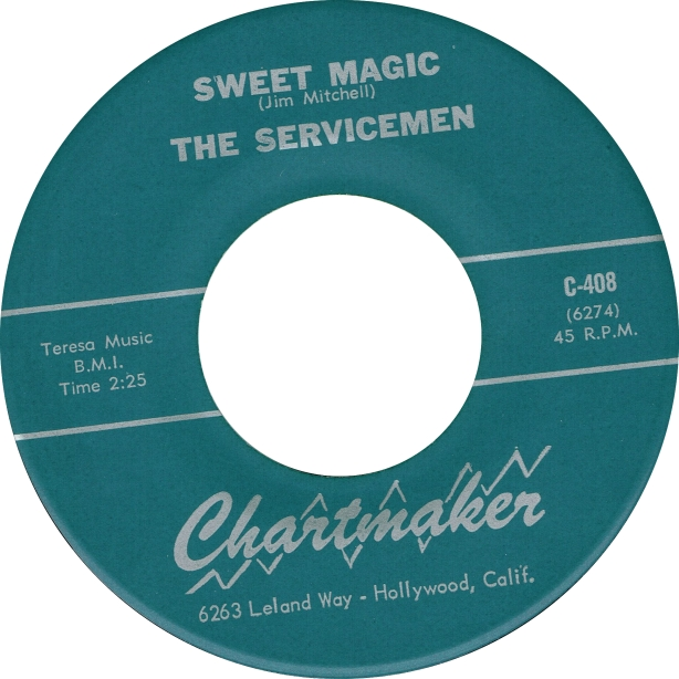 Servicemen - Sweet Magic - Chartmaker copy