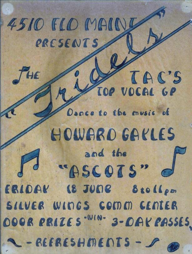 Tridels Concert Poster
